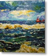 Mad Sea Metal Print