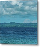 Madagascar, Nosy Be, Small Boat In Sea Metal Print