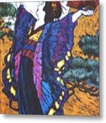 Madama Butterfly Metal Print