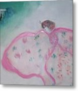Madame Butterfly - Flight To Eterna Metal Print