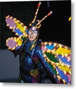 Madame Butterfly At Disney Metal Print