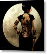 Madame Butterfly Metal Print by Jose Luis Munoz Luque