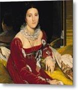 Madame De Senonnes Metal Print by Ingres