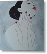 Madame Enchantee Metal Print