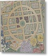 Madame Jumel's Garden Metal Print