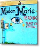 Madame Marie Metal Print