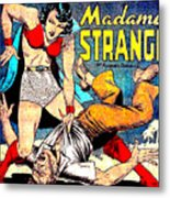 Madame Strange Comic Super Hero Metal Print