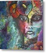 Madamoiselle By Reina Cottier Metal Print