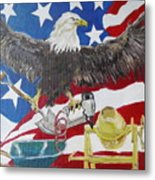 Made In America Metal Print