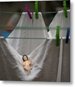 Made In China Baby Jesus Metal Print