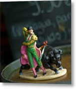 Made In China Matador Metal Print