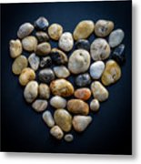 Made Of Stone Metal Print