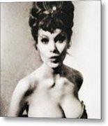 Madeline Smith, Vintage Actress Metal Print