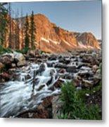 Madicine Bow Waterfall Metal Print