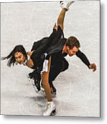 Madison Chock And Evan Bates Metal Print