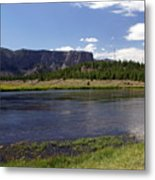 Madison River Valley Metal Print