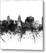 Madison Skyline Uswima09 Metal Print
