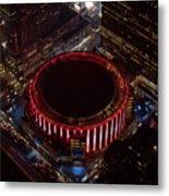 Madison Square Garden Aerial Metal Print