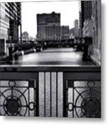 Madison Street Bridge - 3 Metal Print