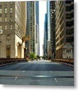Madison Street Bridge - 4 Metal Print