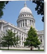 Madison Wi State Capitol Metal Print