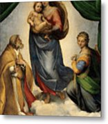 Madonna 1513 Metal Print
