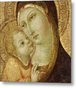 Madonna And Child Metal Print
