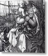 Madonna By The Tree 1513 Metal Print