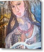 Madonna Of The Racket Metal Print