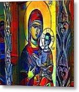 Madonna With The Child - My Www Vikinek-art.com Metal Print