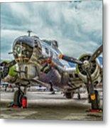 Madras Maiden B-17 Bomber Metal Print