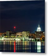Madtown Skyline Metal Print