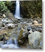 Maekutlong Waterfall Metal Print