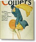 Magazine Cover, 1930 Metal Print