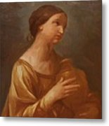 Magdalene With The Jar Of Ointment Metal Print