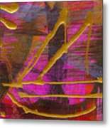 Magenta Joy Sails Metal Print