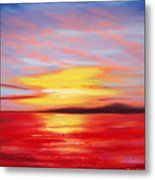 Magic At Sunset Metal Print