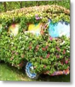 Magic Bus Metal Print by Debbi Granruth