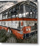 Magic Bus Metal Print