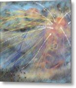 Magic In The Skies Metal Print