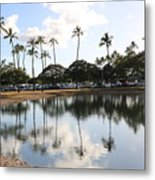 Magic Island Metal Print