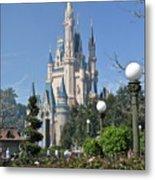 Magic Kingdom Castle Metal Print