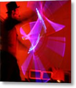 Magic Light Saber Show Metal Print