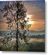 Magic Morning Metal Print