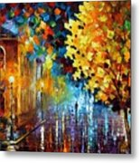 Magic Rain Metal Print