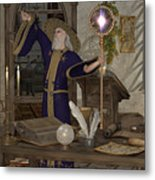 Magic Sorcerer Metal Print