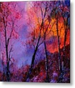 Magic Trees Metal Print