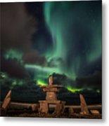 Magical Aurora Metal Print