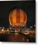 Magical Balloon Ride Metal Print