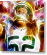 Magical Clay Matthews Metal Print
